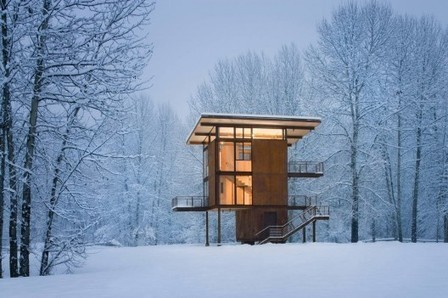 [ Washington, USA] Delta Shelter / Olson Kundig Architects | The Architecture of the City | Scoop.it