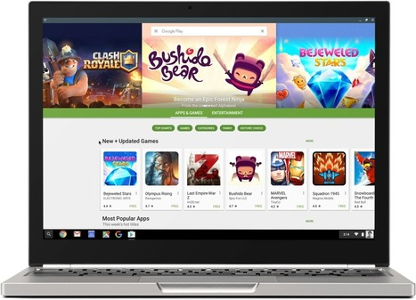 Chromebooks will finally be able to run Android apps in June | Nerd Vittles Daily Dump | Scoop.it