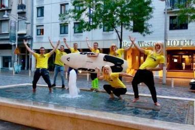 PHOTOS-VIDEO. Les étudiants de Reims surfent sur la vague Brice de Nice   Le fil d'actus de la semaine, dédié aux étudiants de l'URCA !   Scoop.it