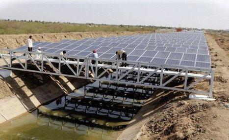 En Inde, des panneaux solaires pour sauvegarder l'eau des canaux | WE DEMAIN. Une revue, un site, une communauté pour changer d'époque | Scoop.it