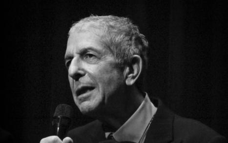 Disparition de Leonard Cohen, poète, romancier et chanteur | CDI du collège Kléber -  Haguenau | Scoop.it
