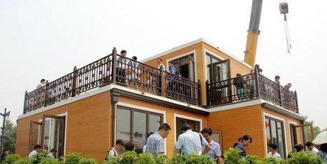Cette villa chinoise a été assemblée en moins de 3 heures | Dans l'actu | Doc' ESTP | Scoop.it