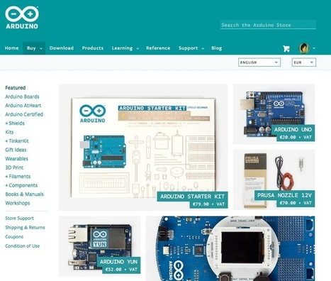"Arduino Blog » Blog Archive » Arduino Store: yes, we are open! | L'impresa ""mobile"" 