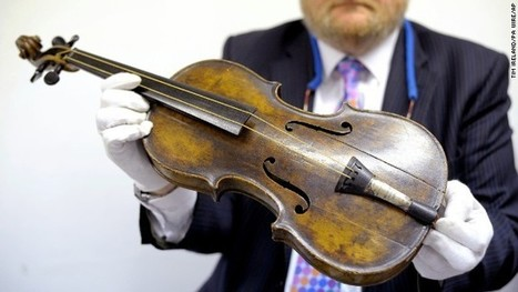 Violin played as Titanic sank sells for $1.7 million | DiverSync | Scoop.it