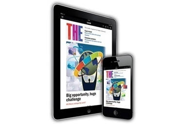 How to access the new THE app for iPad and iPhone - Times Higher Education | iPad Apps for education | Scoop.it