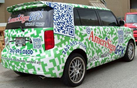 World's First QR Code Vehicle Wrap | QRdressCode | Scoop.it