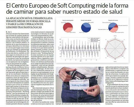 El Centro Europeo de Soft Computing desarrolla Walking Quality, app que mide la forma de caminar para saber nuestro estado de salud   Salud, deporte y viajar   Scoop.it