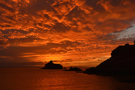 Sunset from Candelero Bay, on Isla Espiritu Santo by Miguel Angel Martinez on 500px | Baja California | Scoop.it