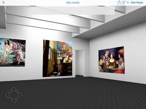 Un musée en 3D pour exposer ses récits en images | Vie numérique  à l'école - Académie Orléans-Tours | Scoop.it