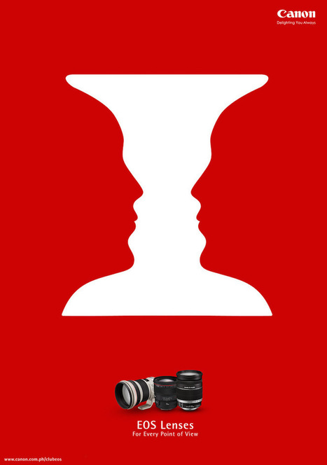 78 Amazing Illustrations And Ads That Use Negative Space Brilliantly | xposing world of Photography & Design | Scoop.it