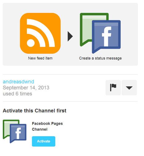 #IFTTT for RSS > Facebook fanpage   Social Media e Innovación Tecnológica   Scoop.it