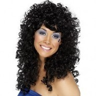 Boogie Babe Wig - Black | Quality Party Wigs - Masquerade-Carnival.co.uk | Scoop.it