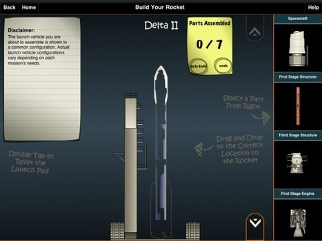 Rocket Science 101 – An App for Designing and Testing Virtual Rockets | Programmeren in het onderwijs | Scoop.it