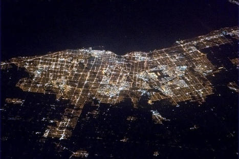 Toronto at Night | Geography Education | Scoop.it
