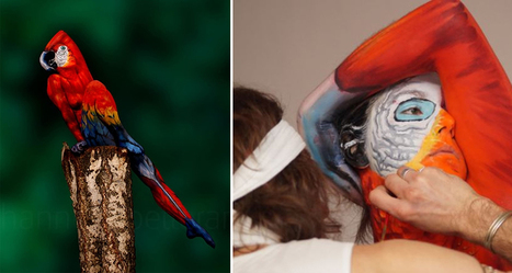 27 Amazing Body Art Illusions That Will Make You Go Wow | xposing world of Photography & Design | Scoop.it