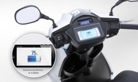 Des scooters électriques avec iPhone comme tableau de bord | 2 ROUES ET MOI | Scoop.it