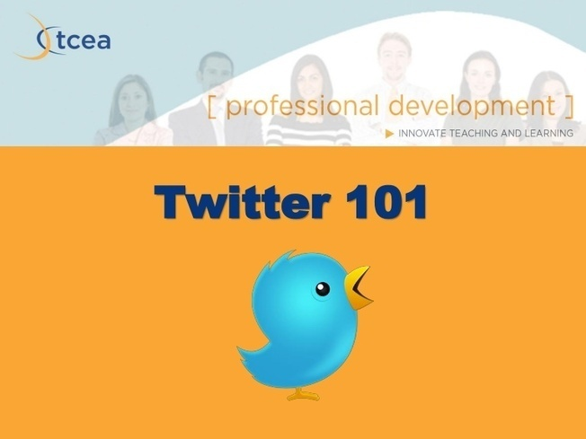 Twitter 101 - Do's and Don'ts of using Twitter - presentation