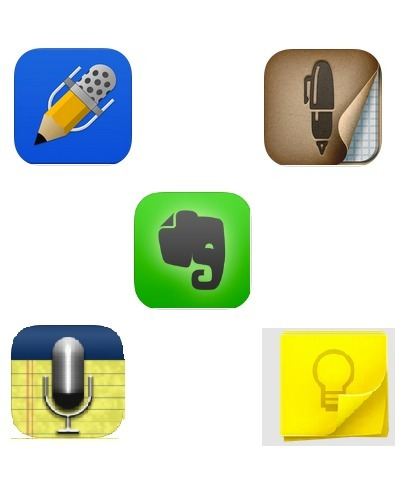 Top 5 Note Taking Apps for Teachers ~ Educational Technology and Mobile Learning | Education Matters - (tech and non-tech) | Scoop.it