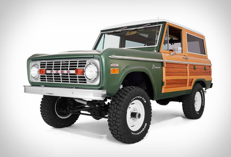 Woody Ford Bronco | Stuff we drool about... | Scoop.it