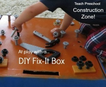 Under construction with our DIY fix-it box | Educational Games and Toys | Scoop.it