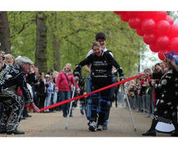 Paralyzed woman uses bionic suit to complete London Marathon | Strange days indeed... | Scoop.it