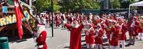 Insolite : c'est le congrès des Pères Noël | Actu Tourisme | Scoop.it