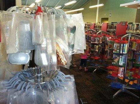 Des collections de moules à gâteaux dans les bibliothèques du Kansas | Enssib | BiblioLivre | Scoop.it