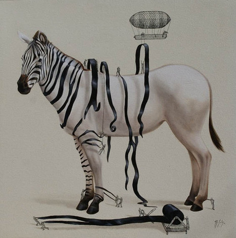 Whimsical Paintings Reveal How Animals Are Created   Arts   Scoop.it