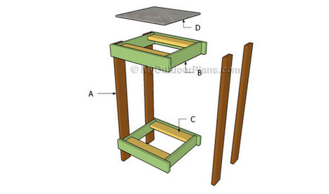 How to Build a Plant Stand | Free Outdoor Plans - DIY Shed, Wooden Playhouse, Bbq, Woodworking Projects | Sustainable | Scoop.it