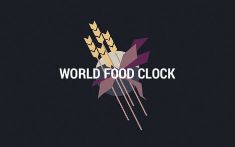 World Food Clock | technologies | Scoop.it