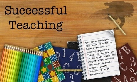 Successful Teaching: Goals are Good Things | Learning & Mind & Brain | Scoop.it