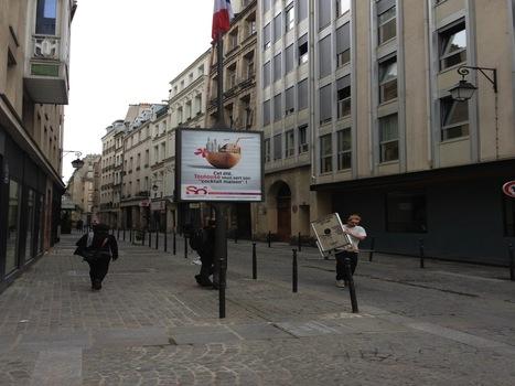 La campagne nationale d'Affiches dans Paris (Beaubourg) | So Toulouse | Scoop.it