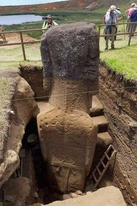 Easter Island's Statues Reveal Bodies Covered With Unknown Ancient Petroglyphs | Amazing | Scoop.it