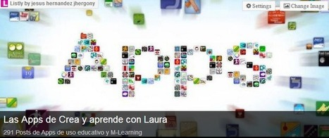 Crea y aprende con Laura: Todo Apps. 358 Posts de Apps de uso educativo y M-Learning | Las Tabletas en Educación | Scoop.it