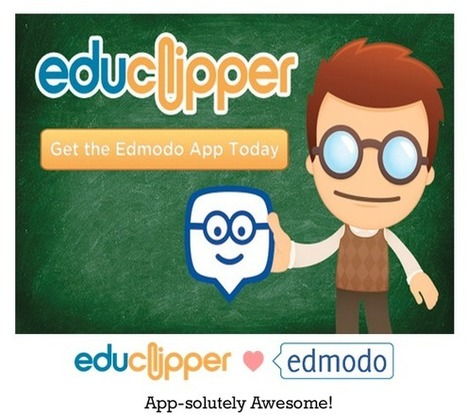Free Technology for Teachers: Now You Can Add eduClipper to Edmodo | The Classroom iPad Library | Scoop.it