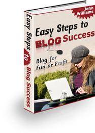 Easy Steps to Blog Success | Smart eBooks | Scoop.it