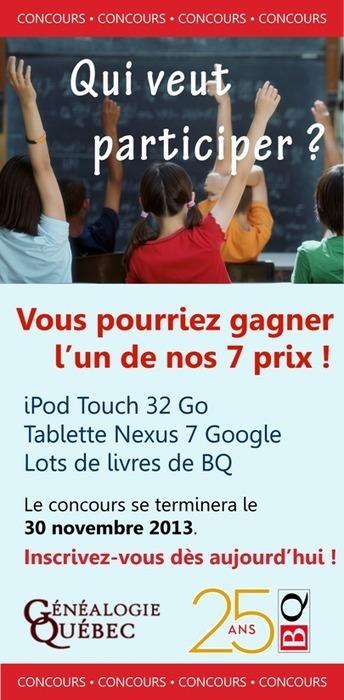 Fédération québécoise des sociétés de généalogie - Le généalogiste des années 2000 | Histoire Familiale | Scoop.it
