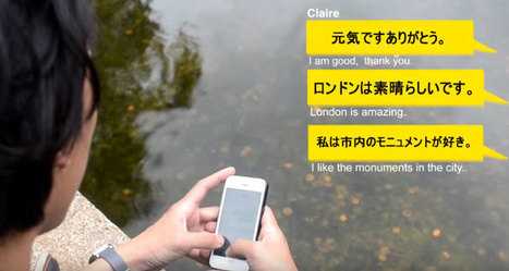 Una app para sostener conversaciones con usuarios de distintos idiomas   Teachelearner   Scoop.it
