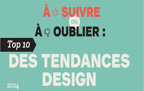 Le Top 10 des tendances design | Ecommerce, digital, études, cas, SEO, best practices, | Scoop.it