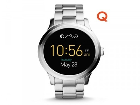 Fossil's Sleek New Smartwatches Finally Hit Stores   Wearable Tech and the Internet of Things (Iot)   Scoop.it