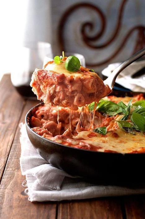 One Pot Creamy Tomato Chicken Pasta Bake | Daily Dose of Creativity | Scoop.it