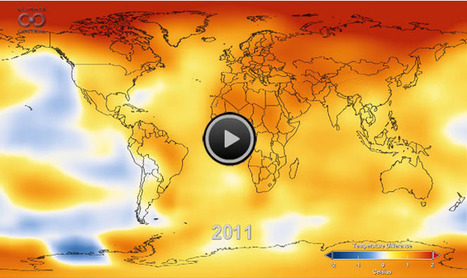 Watch 131 Years of Global Warming in 26 Seconds | CLIMATE CHANGE WILL IMPACT US ALL | Scoop.it