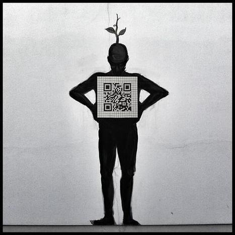 creative use of a #qrcode ... | artcode | Scoop.it