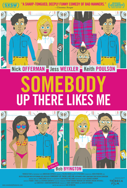Cartoon Poster For Nick Offerman's Somebody Up There Likes Me   Funny Books   Scoop.it