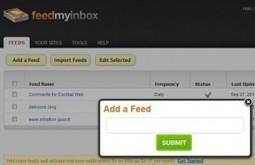 FeedMyInbox. Votre veille Rss par email. | le foyer de Ticeman | Scoop.it