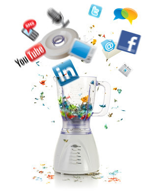 Traditional vs. Social Media Marketing - Social Media Quickstarter | Aries-Graphic Design & Internet Marketing | Scoop.it