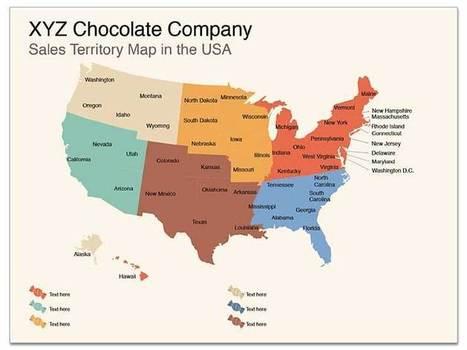 Sales territory usa map apple keynote map tem for Sales territory plan template