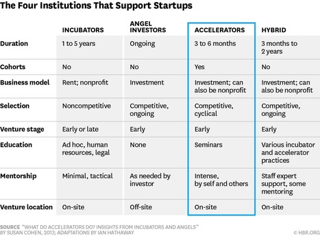What Startup Accelerators Really Do | Innovation Ecosystems - Hubs - Accelerators | Scoop.it