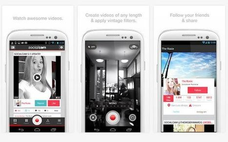 Socialcam, red social móvil similar a Instagram pero para vídeos | Socialart | Scoop.it