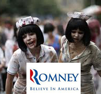 ZOMBIES BACK ROMNEY   Weekly World News   Zombie Mania   Scoop.it